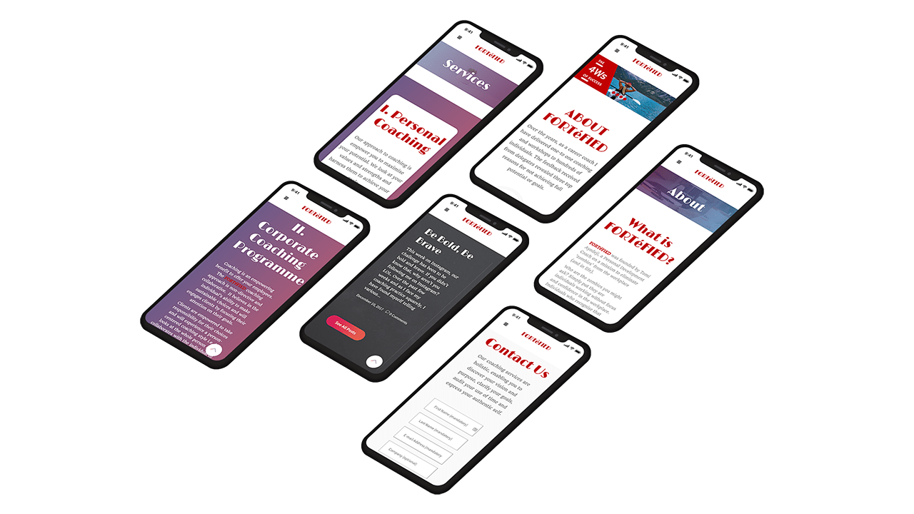 Lightseid Client Mobile Experience