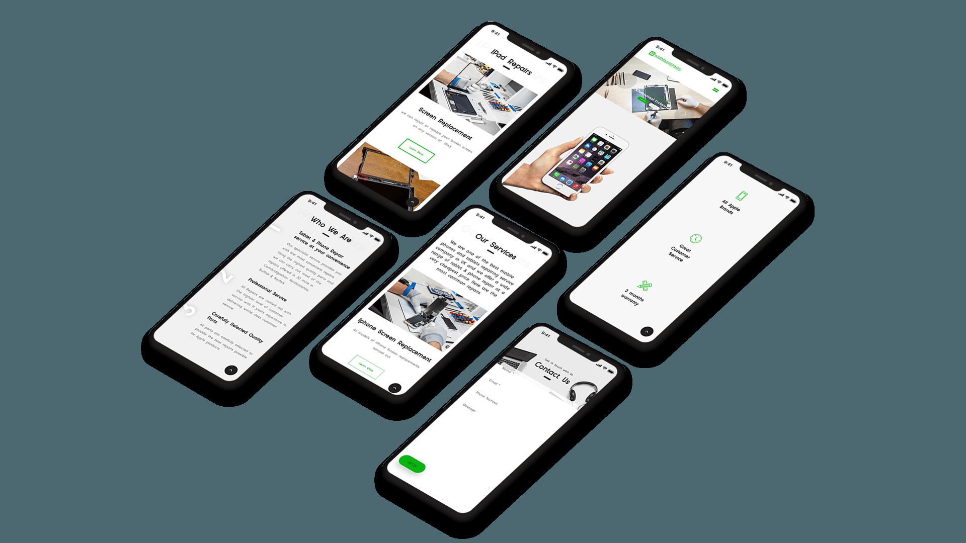 Warman Repairs Responsive Website
