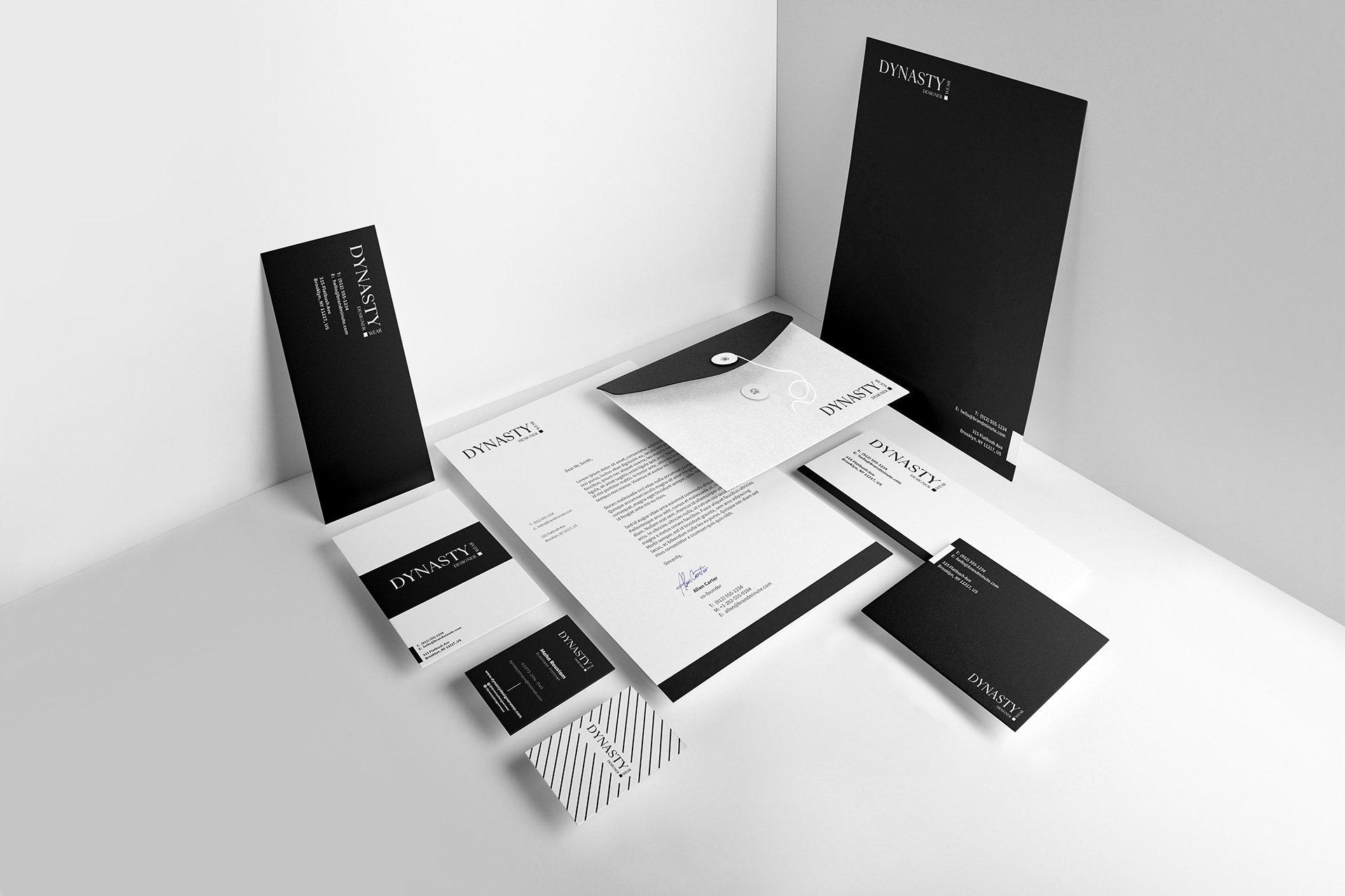 Dynasty Designer Stationary