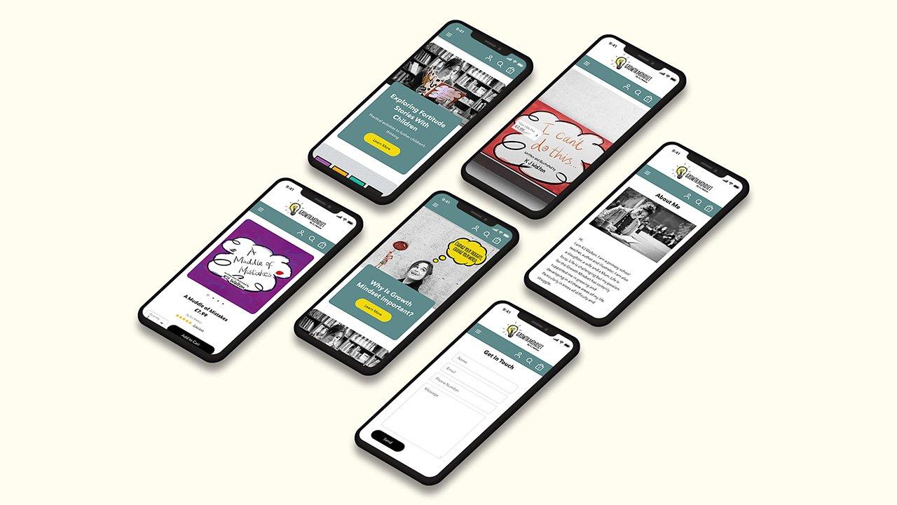 Growth Mindset Responsive Website Design