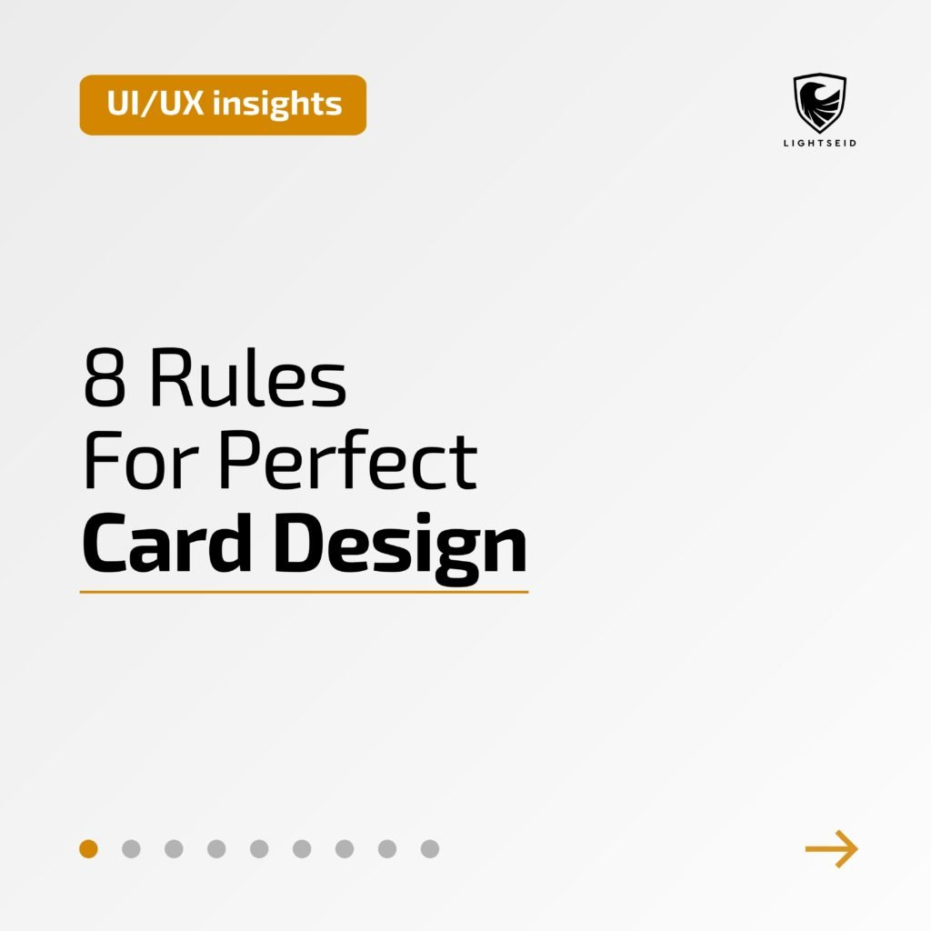 8 Rules For Perfect Card Design