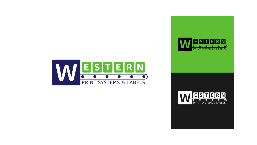 Western Print Systems logo showcase