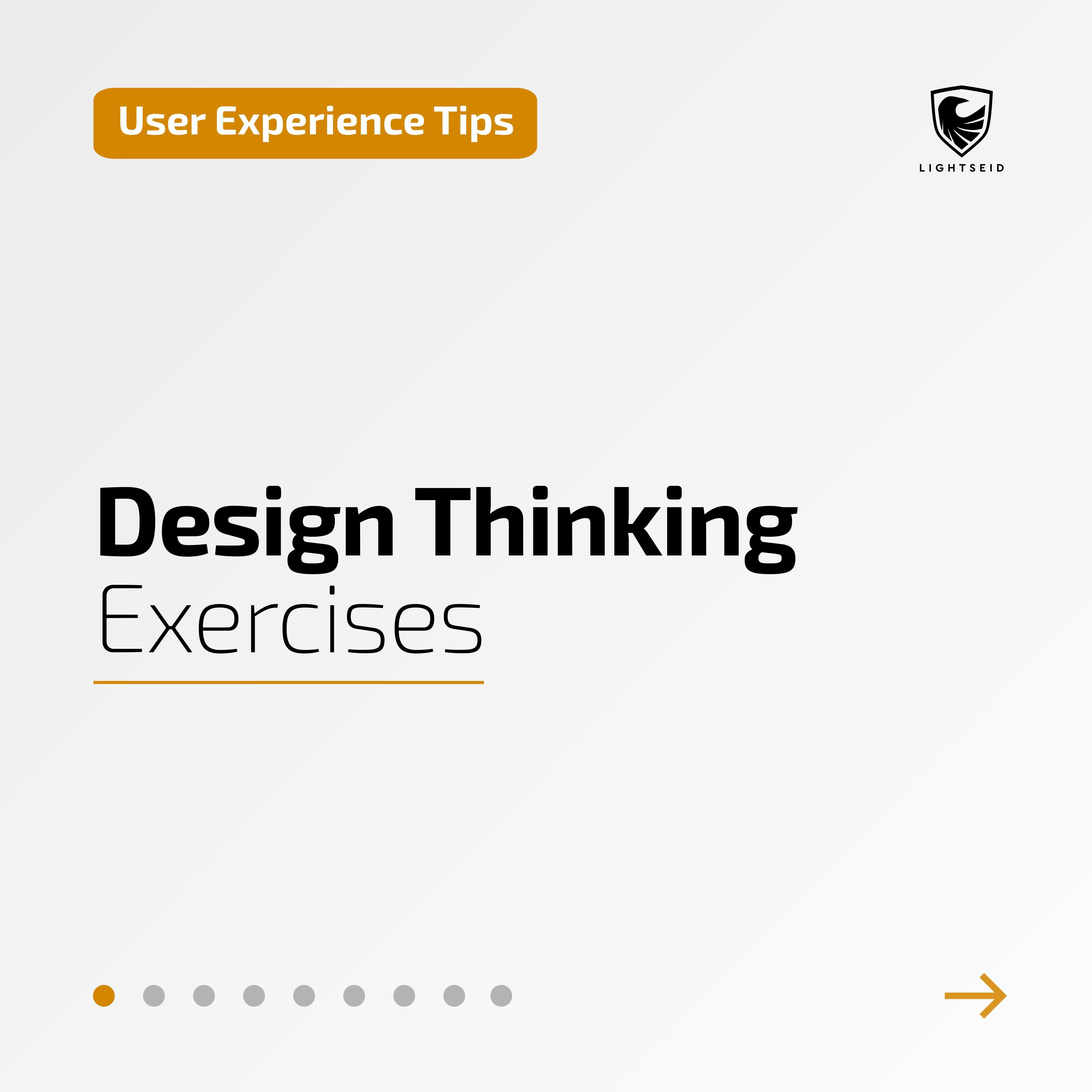 Design Thinking Exercises