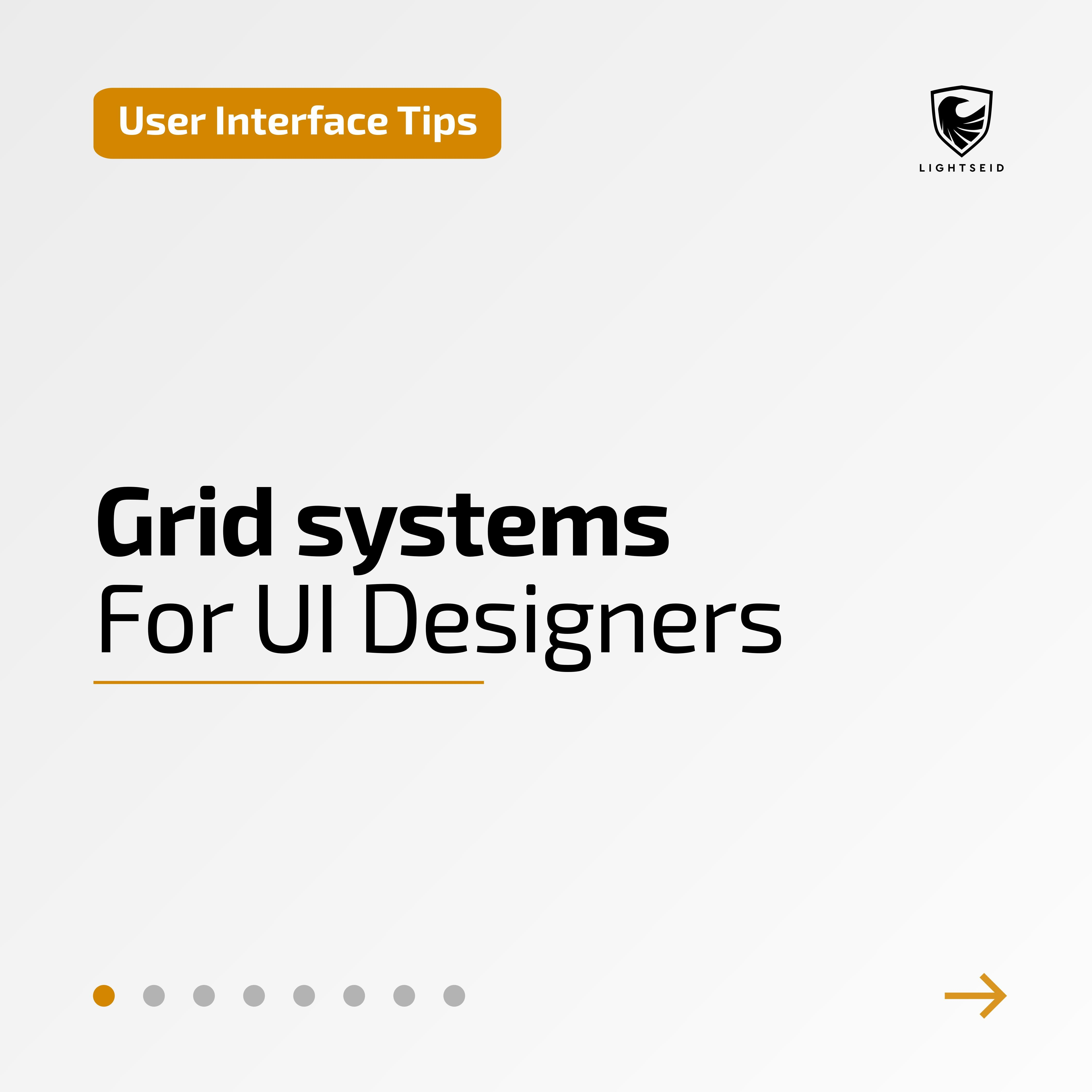 Grid Systems For UI Designers