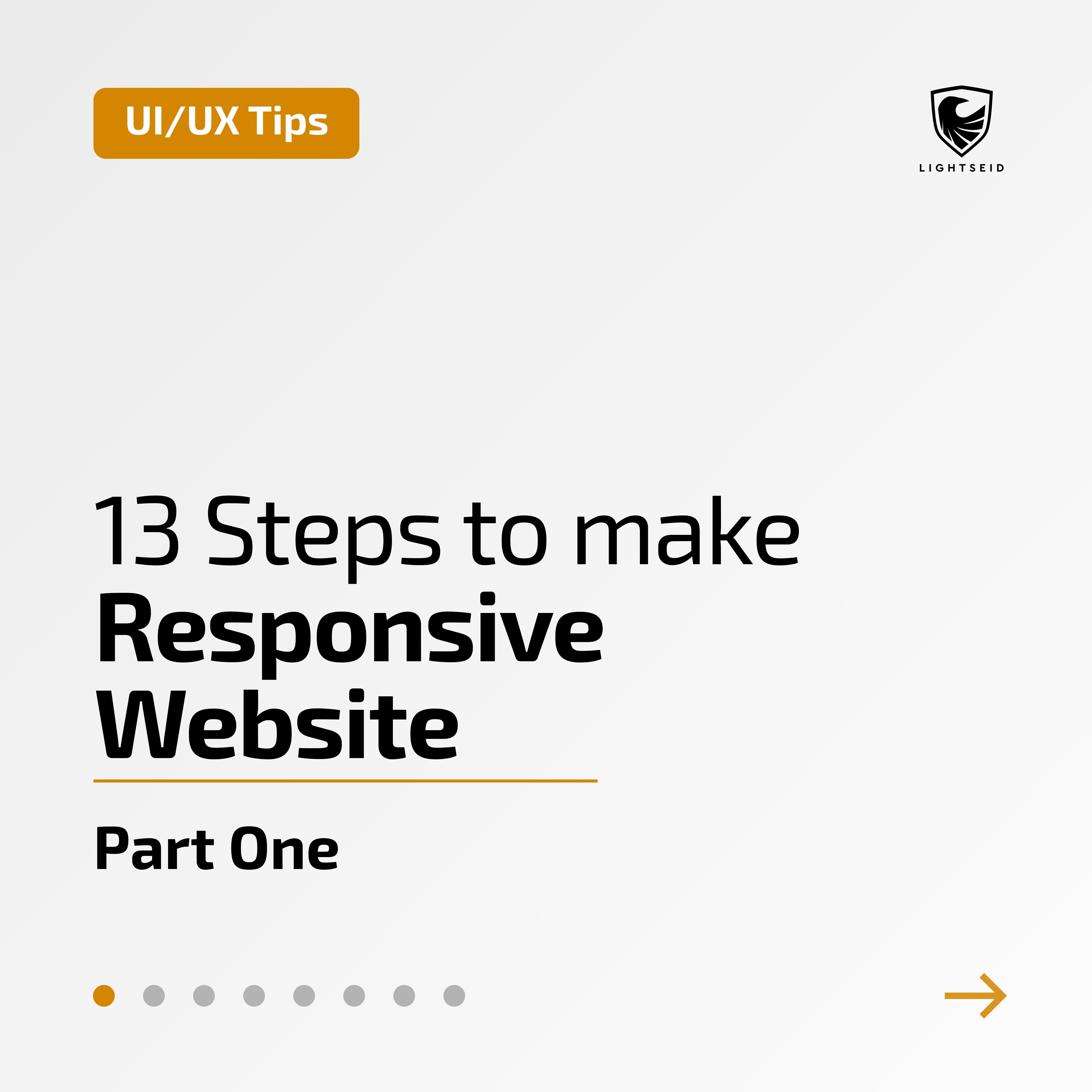 13 Steps To Make Responsive Website Part One