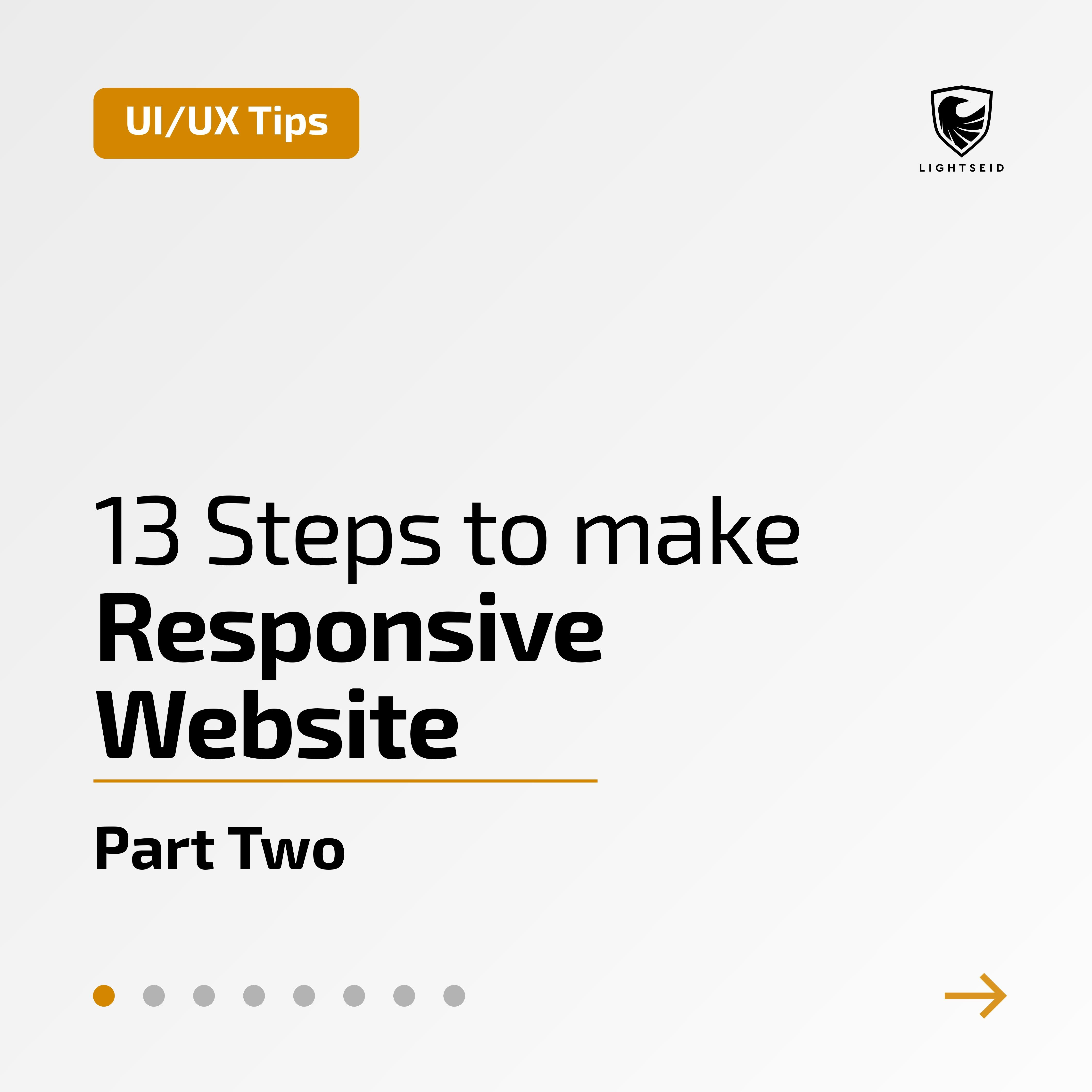 13 Steps to make Responsive Website | Part Two