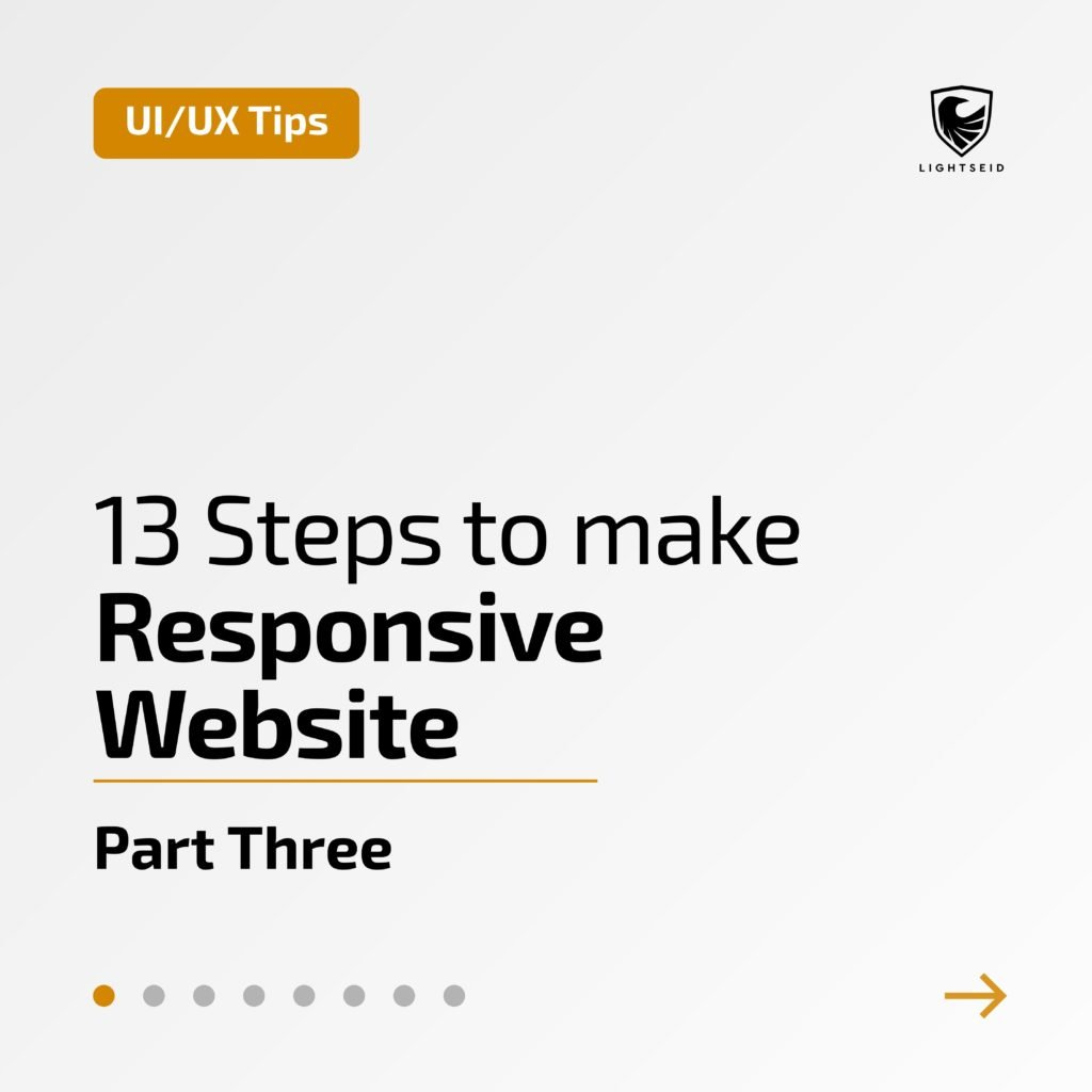 13 Steps to make Responsive Website | Part Three