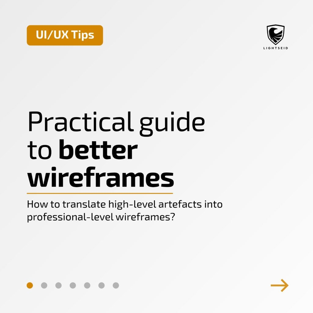 Practical Guide To Better Wireframes