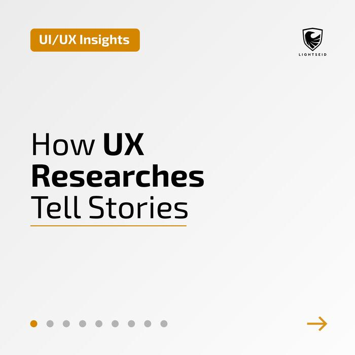 How UX Researches Tell Stories