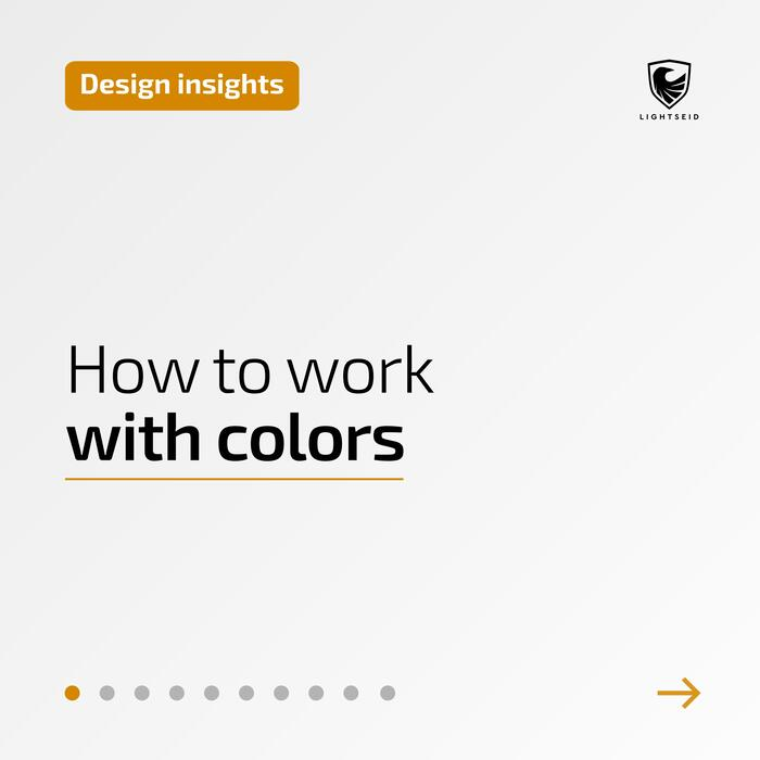 How to work with colors