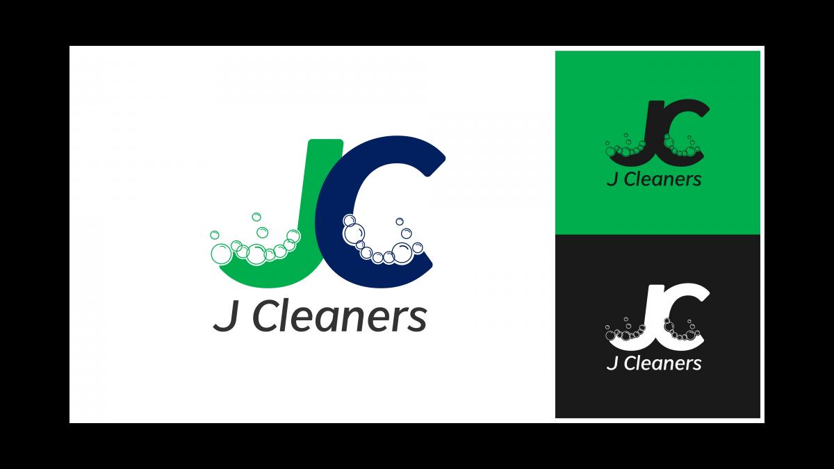 J Cleaners Logo Showcase