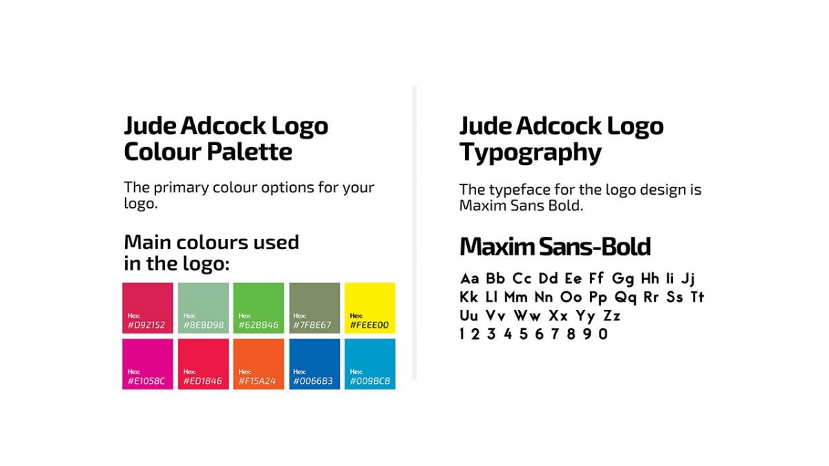 Jude Adcock Color palette