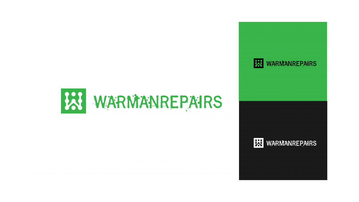 Warman Repairs Logo Showcase